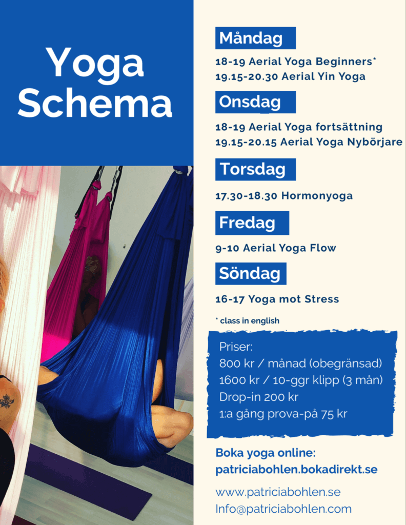 yoga schedule and prices