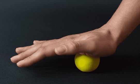fascia yoga hand technique