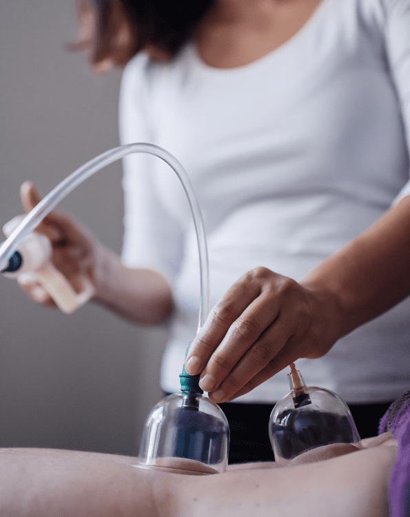 koppningsmassage för ökad blodcirkulation