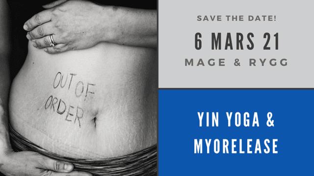 yin yoga myofascia release bål